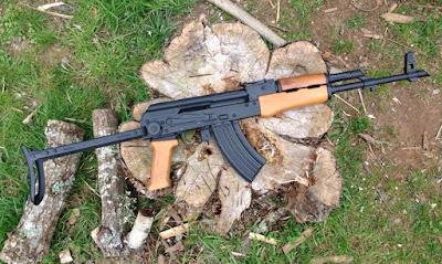 Hungarian-Underfolder-AK47-Cerakoted