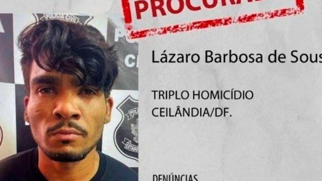Defesa de Lázaro Barbosa pede proteção especial em caso de prisão