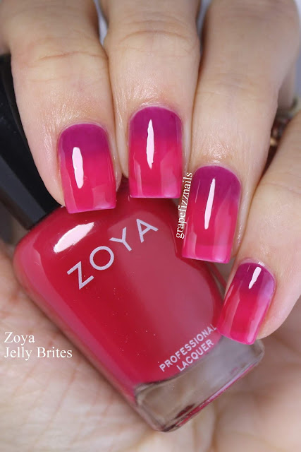 zoya jelly brites gradient