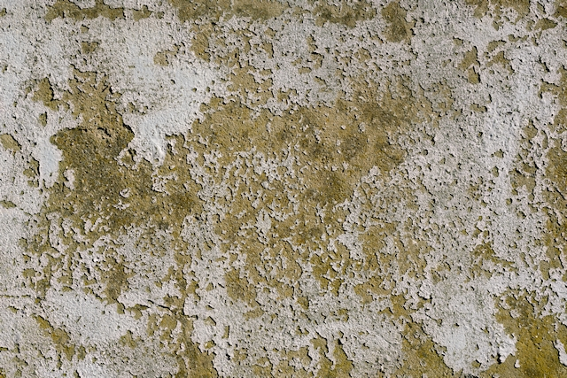 Damaged stucco wall texture
