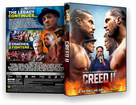 CAPA DVD – Creed 2 – AUTORADO – CINEMA