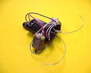Robot Kumbang Sederhana - Cara Bikin The Beetle Robot