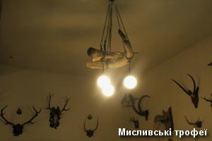 Мисливські трофеї в музеї замку