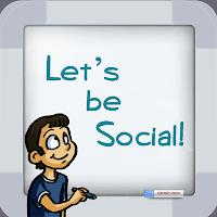 Let's be social app
