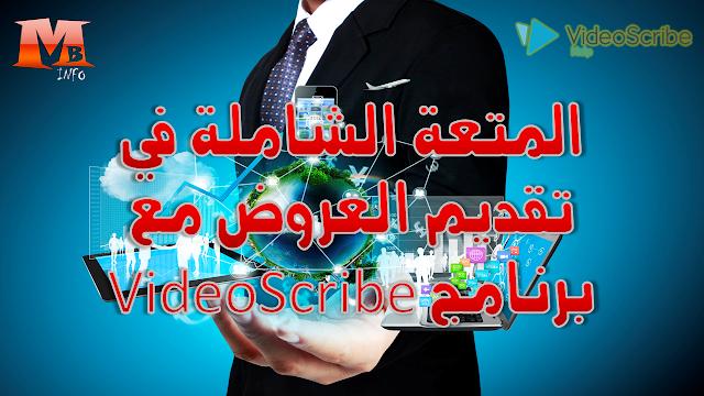 المتعة الشاملة في تقديم العروض مع برنامج VideoScribe