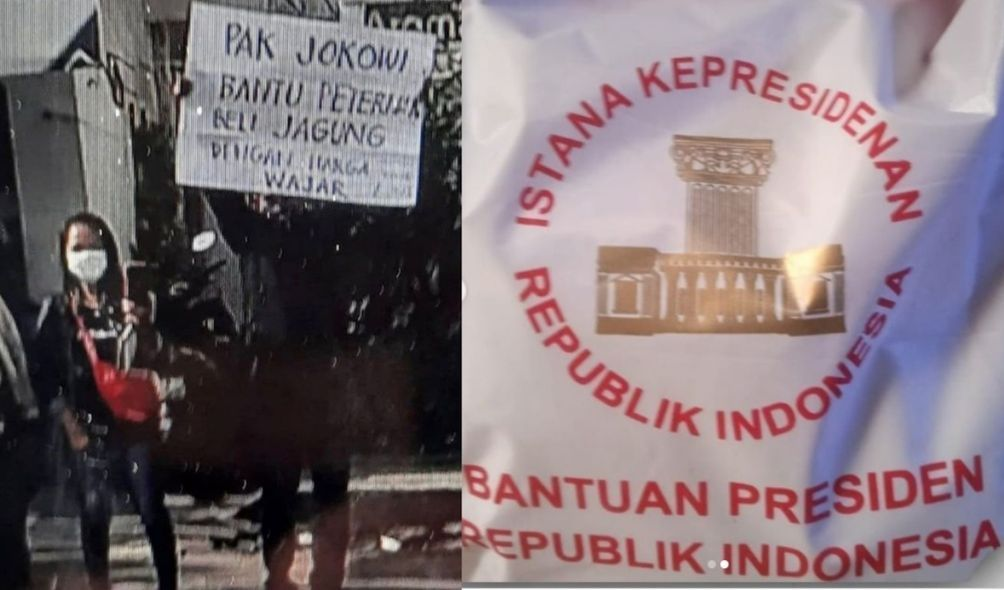Usai Diamankan Polisi, Pria Bentangkan Poster ke Jokowi di Blitar Dapat Bantuan Ini dari Istana Kepresidenan