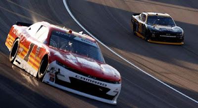 Josh Berry Rolls at Las Vegas, Speeds to Second Xfinity Series Win