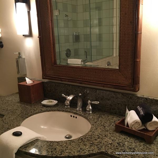 bathroom vanity at Tradewinds Carmel in Carmel, California