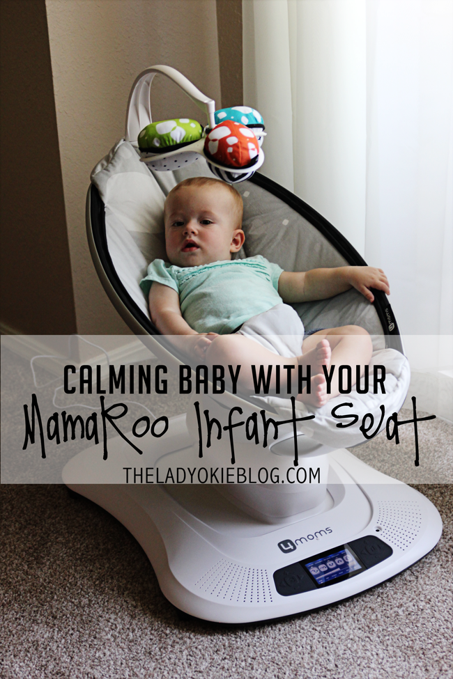 Mamaroo Infant Chair The Lady Okie Calming Your Baby With The Mamaroo Infant Seat