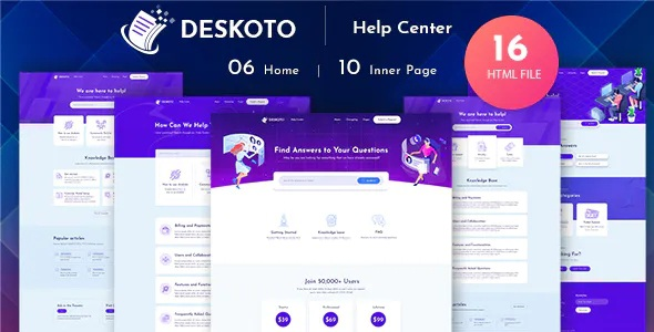 Download HelpDesk and Knowledge Base Template
