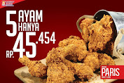 Brooaster Chicken Promo Beli 5 Pcs Ayam Hanya Rp.45.454