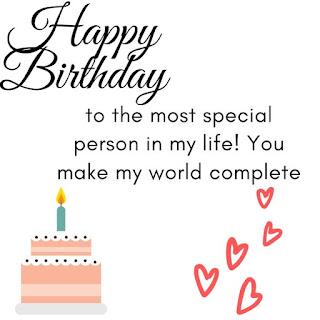 birthday wishes for boyfriend with love