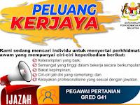 Jawatan Kosong di Kementerian Pertanian dan Industri Makanan MAFI - Seluruh Malaysia