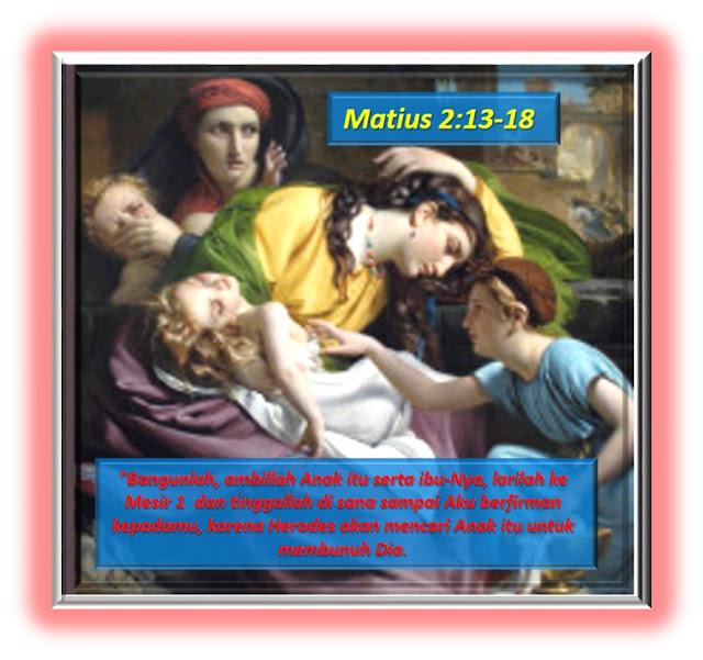 Matius 2: 13-18