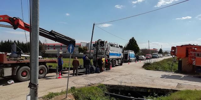 Η Δ.Ε.Υ.Α.Ν. λύνει ένα χρόνιο αποχετευτικό πρόβλημα στην πόλη του Ναυπλίου