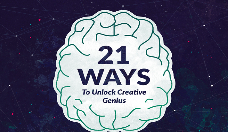 21 Ways to Get Inspired #infographic