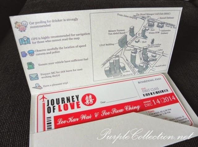 boarding pass, wedding invitation, card, malaysia, KL, kuala lumpur, printing, cetak, kad kahwin, cute couple, waze map, icon, map, Ritz-Carlton Kuala Lumpur, Selangor, perak, penang, pahang, johor bahru, melaka, kedah, kelantan, sabah, perlis, sarawak, miri, bintulu, kuching, tawau, sandakan, personalised, personalized, custom made, design, modern, special, bespoke, journey of love, invites, hand crafted, hand made, online purchase, buy, portfolio