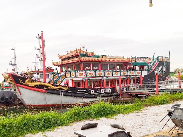 Reflika kapal Laksamana Cheng Hoo