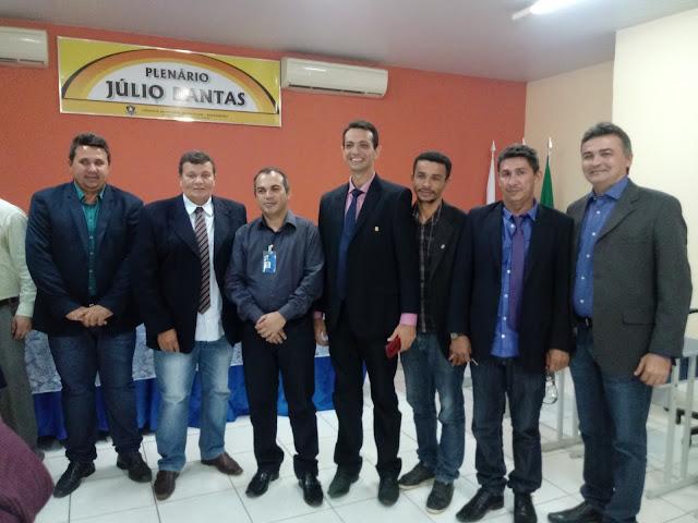 Câmara de Vereadores de Tuntum Aprova Título de Cidadão Tuntuense para o Gerente do Banco do Brasil Josiel Oliveira, Que é Homenageado Pelos Relevantes Serviços Prestados