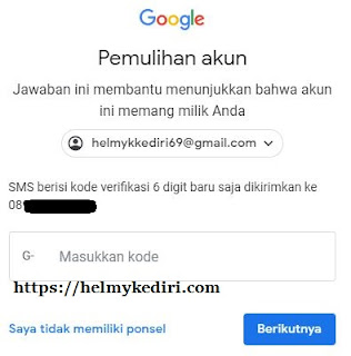 akun gmail yang lupa password 2