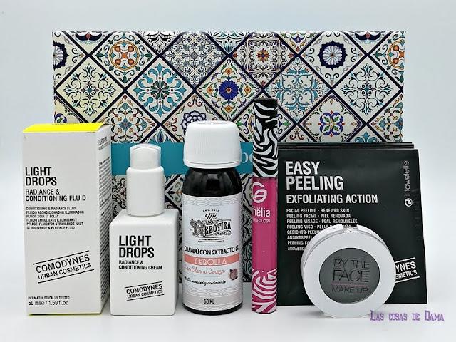 Guapabox Abril Primavera Beauty box comodynes maquillaje cosmetica
