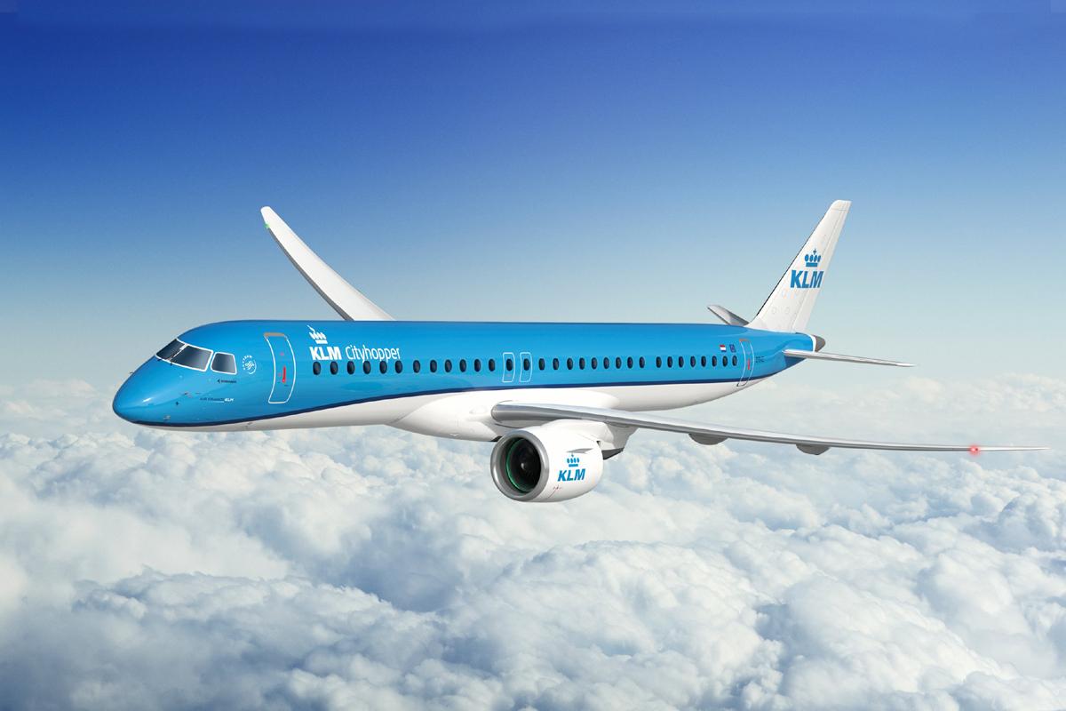 KLM confirma pedido firme para E195-E2 e adiciona seis aeronaves | É MAIS QUE VOAR