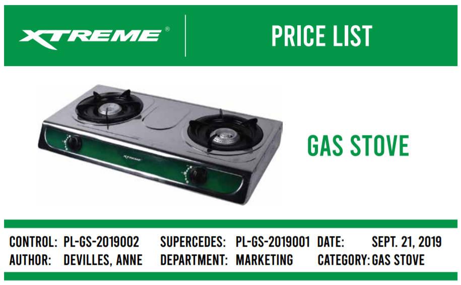 Xtreme Gas Stove