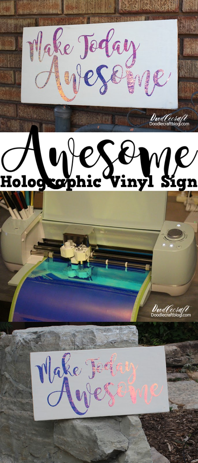 Doodlecraft Cricut Explore Air 2 Make Today Awesome Diy