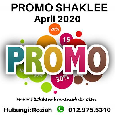 Promosi Shaklee April 2020