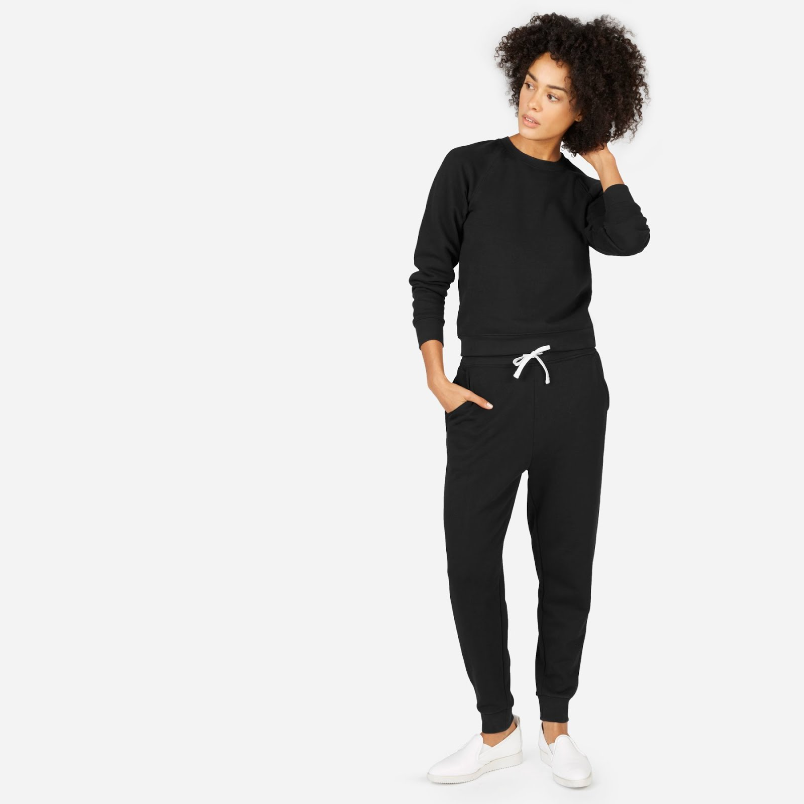 Everlane Classic French Terry Sweatpant Slim Classic French Terry Crew
