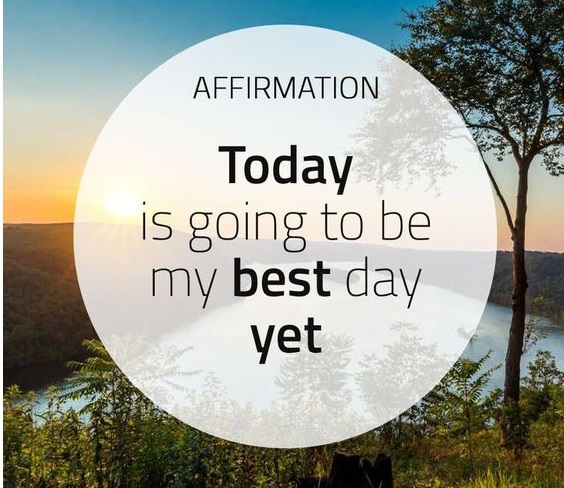 Daily Affirmations, Positive Affirmations,Daily Affirmations - 1 November 2018