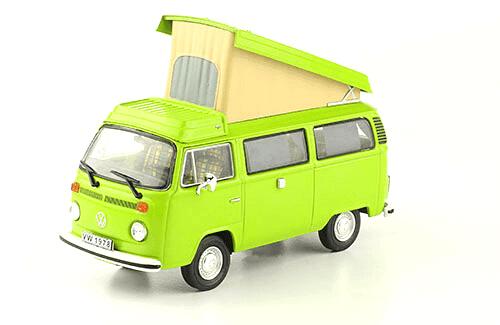 volkswagen Transporter T2 Westfalia 1978 1:43, volkswagen collection, colección volkswagen méxico