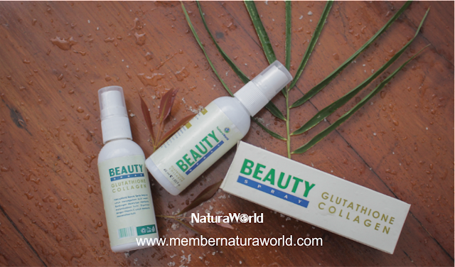 Cara Pemakaian Natura World Beauty Spray