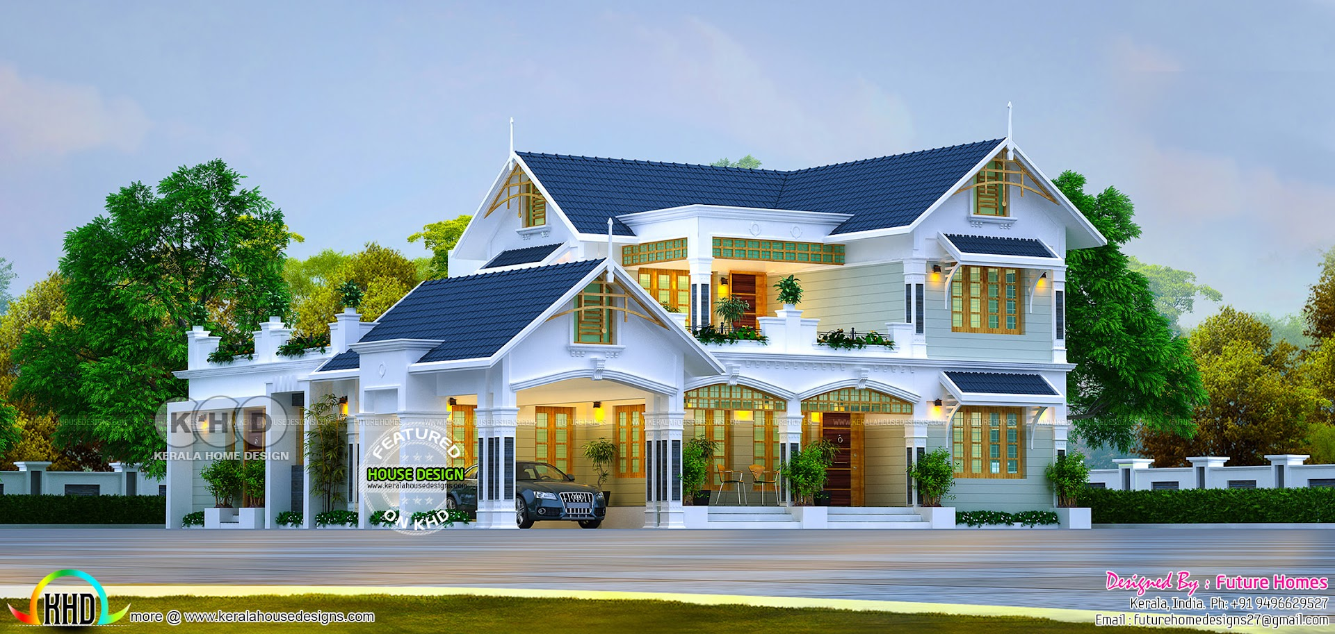 Kerala Home Design And Floor Plans: 2018