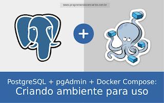 PostgreSQL + pgAdmin 4 + Docker Compose: Criando ambiente para uso