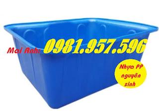 Thùng nuôi cá cảnh,thùng nuôi cá giống, thùng nhựa lớn
