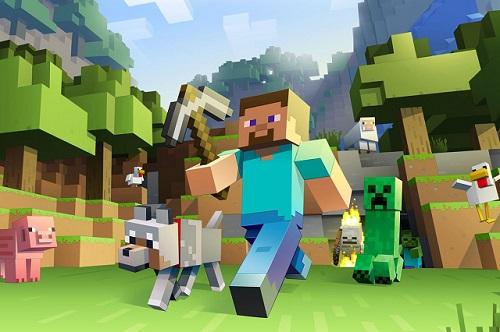 Minecraft cho phép game thủ thỏa sức sáng tạo theo trí hình dung của chính mình