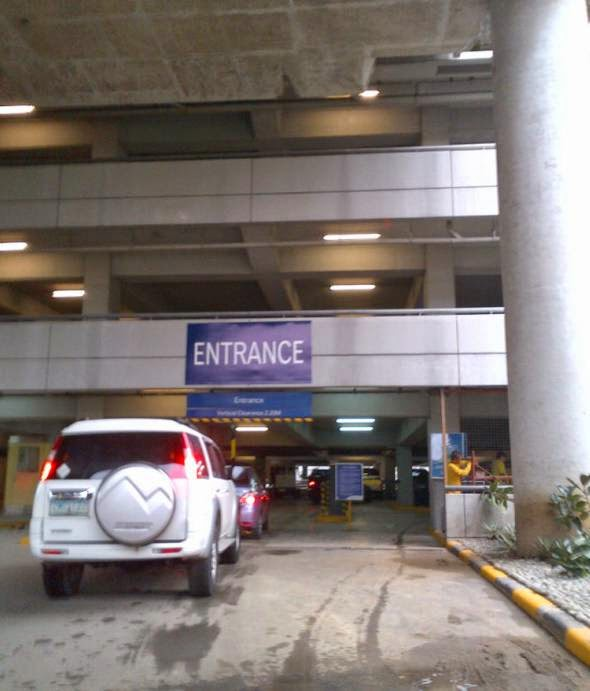 Eye In The Sky Naia Terminal 3 Covered Parking