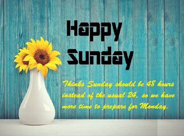 Best Sunday Wishes and Status for Whatsapp