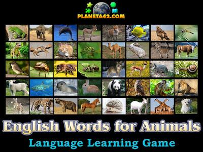 Английски Думи за Животни Игра