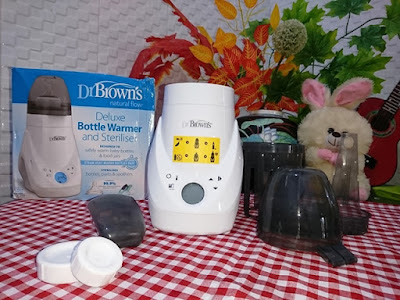 Komponen Dr. Browns's Deluxe Bottle Warmer and Sterilizer