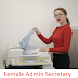 Female Admin Secretary