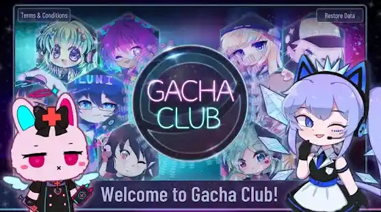 Gacha Club ابدأ الحفلة وابتكار شخصيات الأنيمي الخاصة بك وارتدائها في أزياء الموضة المفضلة لديك! اختر من بين الآلاف من الفساتين والقمصان وتسريحات الشعر والمزيد!