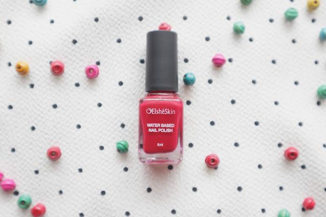 Review Elsheskin Matte Lipstick dan Elsheskin Nail Polish