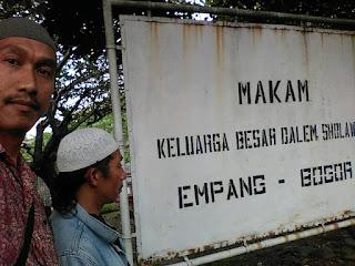 Penelusuran Raden Muhammad Thohir dan Makam Keluarga Besar Dalem Shalawat
