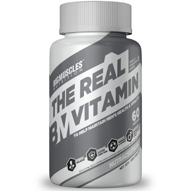 Big Muscles The Real Vitamin, 60 Servings