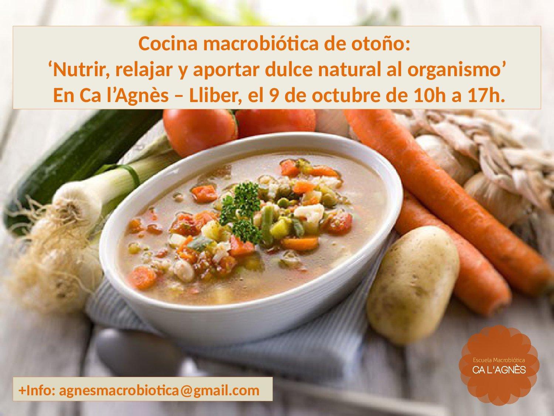 Nutrici n para la salud cocina macrobi tica de oto o for Cocina macrobiotica