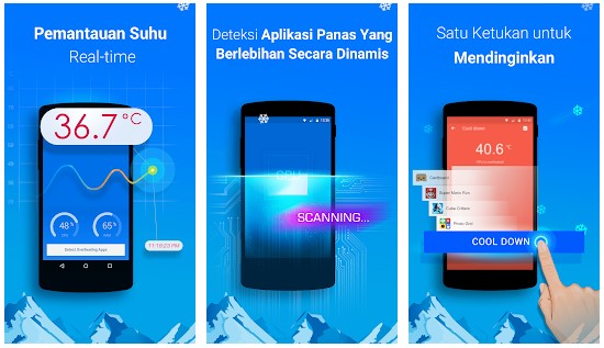 Aplikasi Pendingin HP Android Otomatis