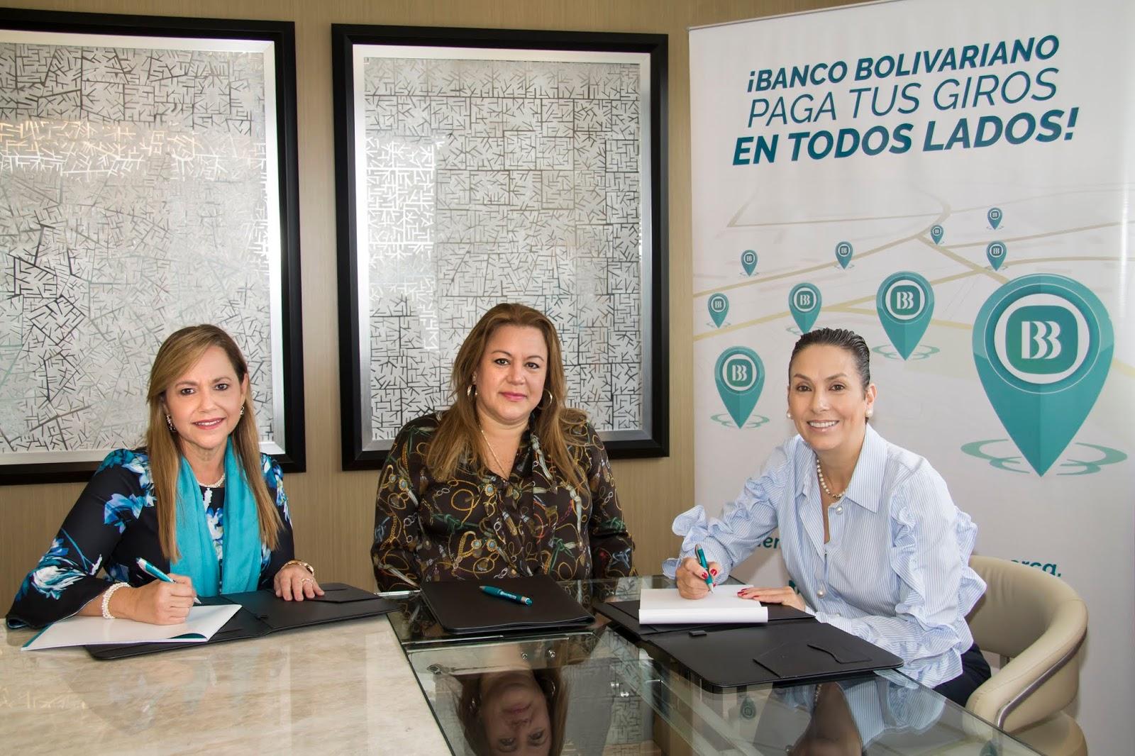 Banco Bolivariano amplía su red de pagos a nivel nacional.