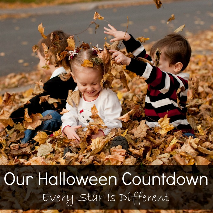 Our Halloween Countdown
